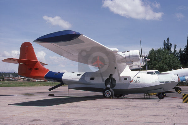 HK-2115 Consolidated PBY6A Catalina, TALA, Madrid AFB, Colombia