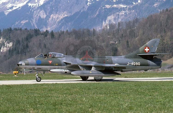 J-4090 Hawker Hunter F58, Swiss AF