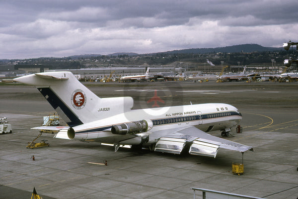 JA8321 Boeing 727-081, All Nippon Airlines, Seattle