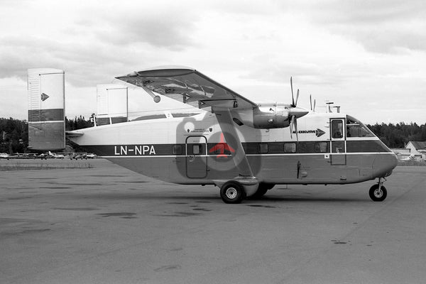 LN-NPA Short SC7 Skyvan, Air Executive
