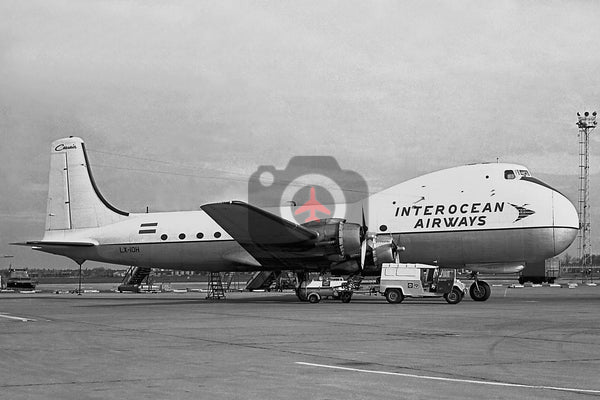 LX-IOH Aviation Traders ATL98 Carvair, Interocean Airways