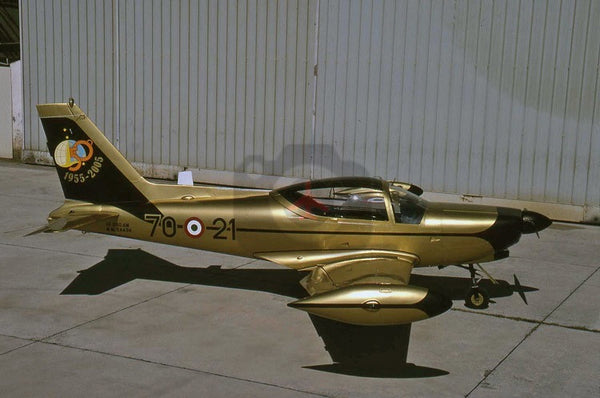 MM54434 (70-21) SIAI SF.260AM, Italian AF, 2005, special colours