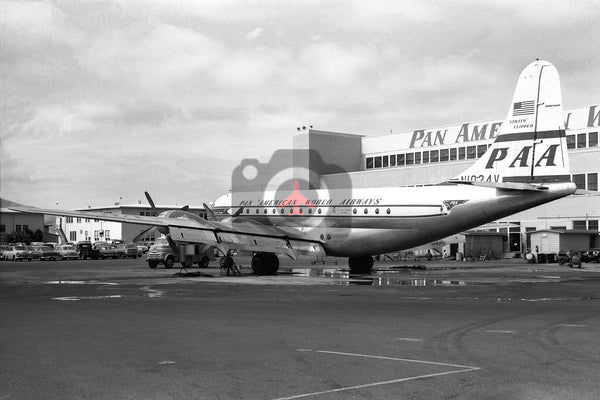 N1024V Boeing 377 Stratocruiser, Pan American World Airways