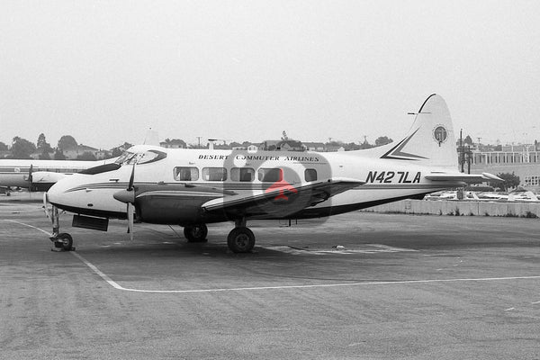 N427LA De Havilland DH104 Dove, Desert Commuter Airlines, Santa Monica 1969
