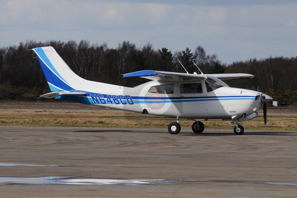 N646CD Cessna T210N, Blackbushe 2010