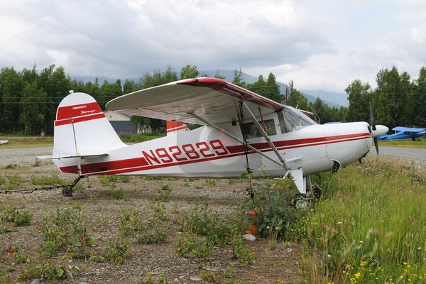 N92829 Commonwealth 185 Skyranger, Wolf Lake Alaska, 2007