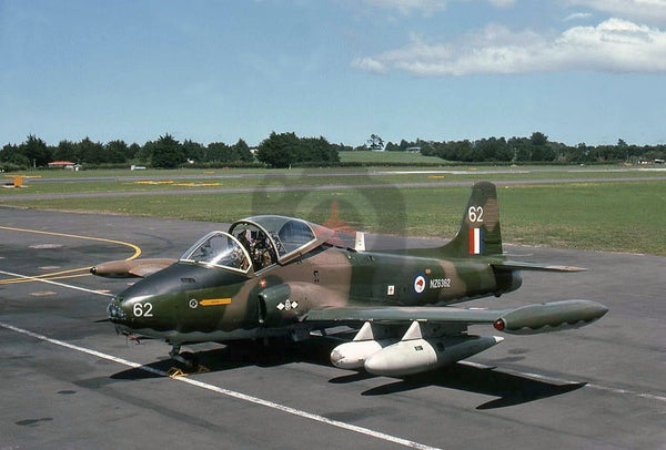 NZ6362(62) BAC 167, RNZAF, Whenuapai 1975