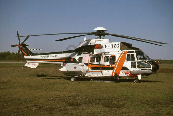 OH-HVG Aerospatiale AS332L Super Puma, Finnish Frontier Guard, Oulu 1997