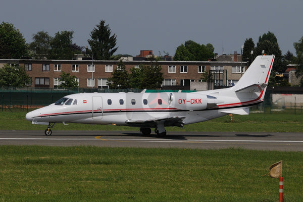 OY-CKK Cessna Citation 560XL Lego, Antwerp 2011