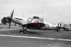 PM651 Supermarie Spitfire X1X, Andover 1960