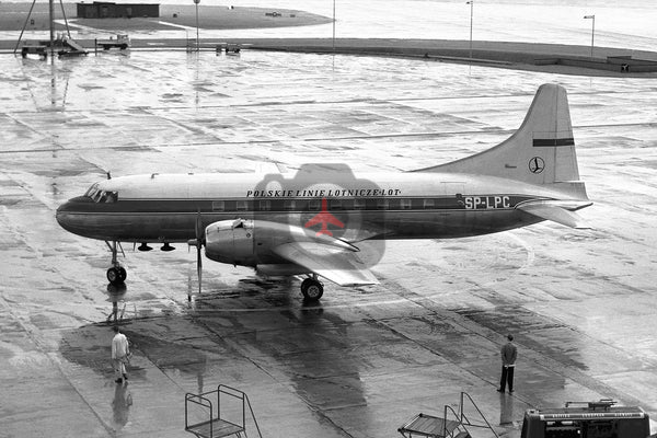 SP-LPC, Convair CV240, LOT Polish Airlines, Heathrow