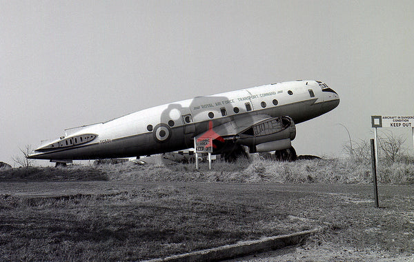 TG501 Handley Page Hastings C.1, RAF, Manston 1970