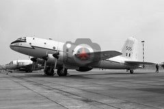 TG505 Handley Page Hastings T.5, RAF(SCBS), Coltishall 1968