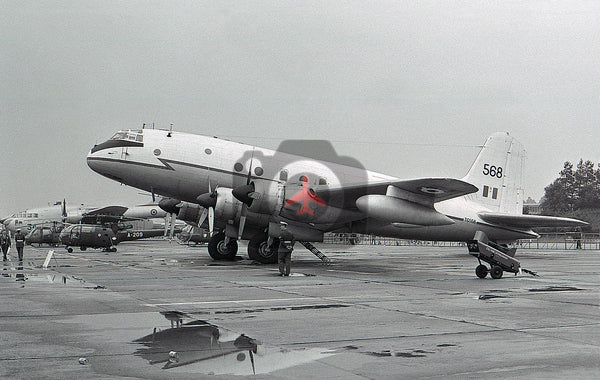 TG568 Handley Page Hastings  C.1A, RAF, Wildenrath 1970