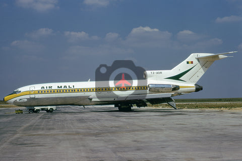 TZ-ADR Boeing 727-173C, Air Mali, Paris Le Bourget, 1975