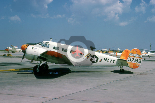 23783 Beech UC-45J, USN, Washington 1966