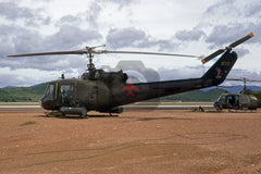 66-632 Bell UH-1C, US Army(129 Assault Helicopter Co), Phu Cat 1981