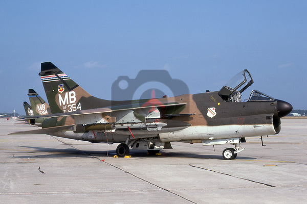 71-354(MB) LTV A-7D, USAF(354 TFW), 1974