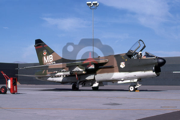 70-972(MB) LTV A-7D, USAF(354 TFW), 1976