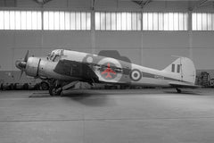 VM334 Avro Anson C.19, RAF, Martlesham Heath 1960