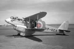 VP-KEA De Havilland DH89A Dragon Rapide, East African Airways, c1950