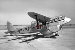 VP-KFH De Havilland DH89A Dragon Rapide, Noon & Pearce Air Charters c1950
