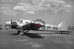VP-KHL Avro 652 Anson 1, Noon & Pearce Air Charters, Nairobi Eastleigh c1950