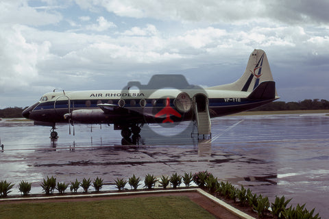 VP-YTE Vickers Viscount 754D, Air Rhodesia