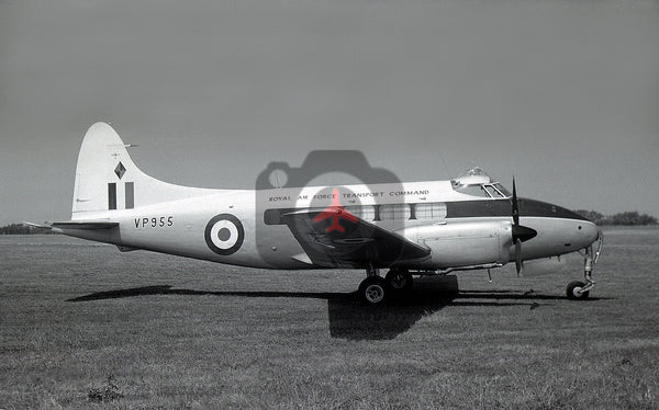 VP955 De Havilland DH104 Devon C.2, RAF, Jersey