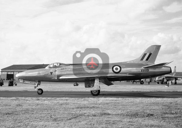 VV119 Supermarine 535, RAF, Farnborough 1952