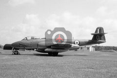 VZ493(O) Gloster Meteor F.8, RAF, Woodvale