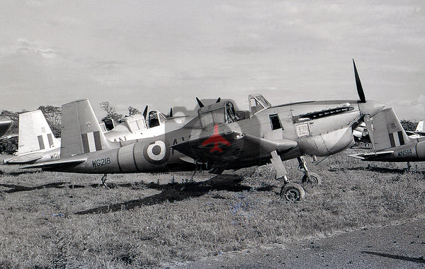 WG218 Boulton Paul  Balliol T.2, Silloth 1957