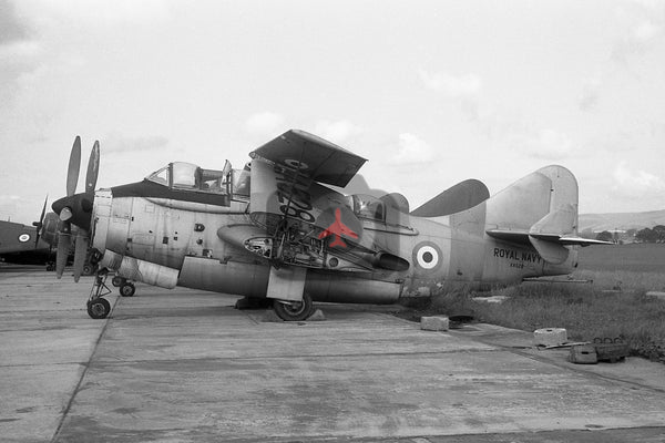 XA528 Fairey Gannet T.2, Royal Navy, Abbotsinch 1962