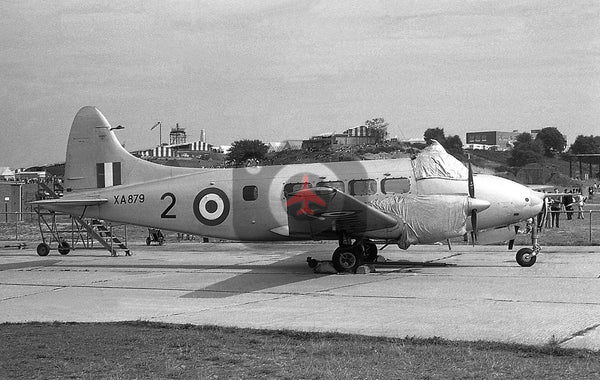 XA879(2) De Havilland Devon C.1, RAF, Farnborough 1961