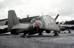 XB360 Grumman Avenger ECM.6, Royal Navy, Abbotsinch 1963