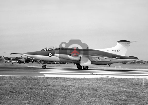 XK490 Blackburn NA.39 Buccaneer, RAF,  Farnborough 1959