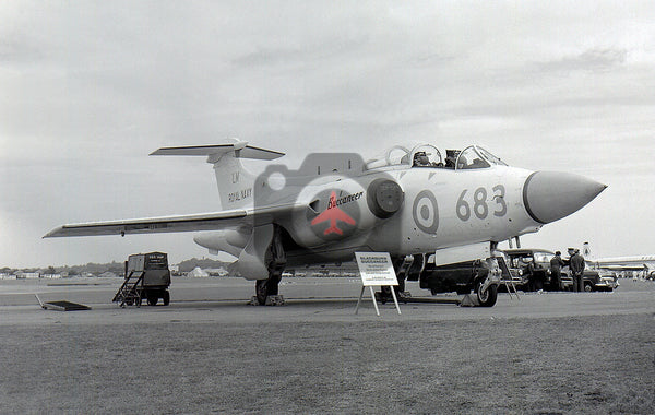 XK534(LM683) Blackburn Buccaneer S.1, Royal Navy