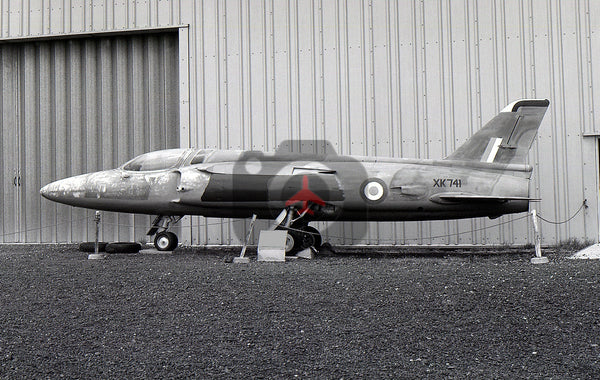XK741 Folland Gnat F.1, RAF, Coventry 1989