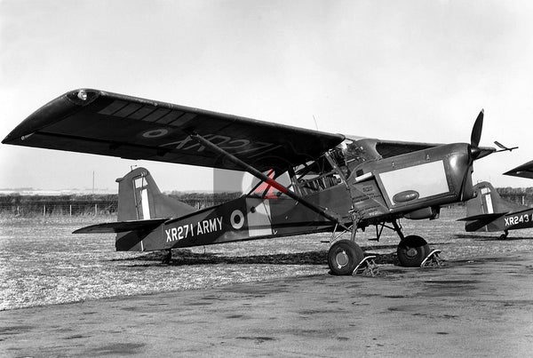 XR271 Auster AOP.9, British Army