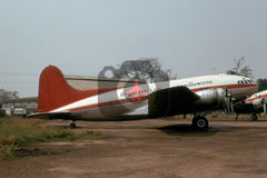 XW-TFP Boeing 307, Royal Air Lao, 1975