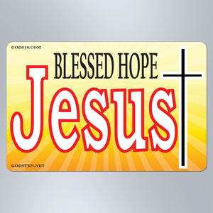 Blessed Hope Jesus - Large Magnet