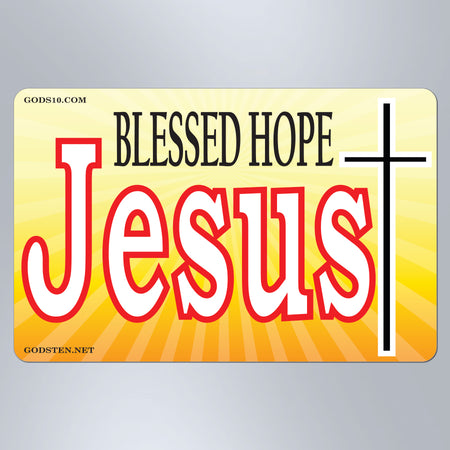 Blessed Hope Jesus - Small Magnet