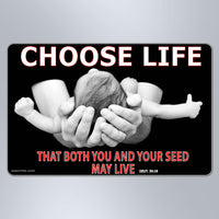 Choose Life That Both You And Your Seed May Live - Small Magnet