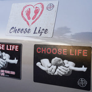 Pro Life Bundle - 2 Choose Life Small Magnets (LIMIT 5 PER PERSON)