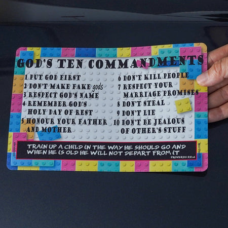 10 Commandments for Kids - Small Magnet