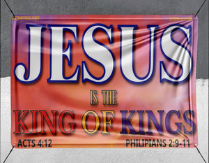 Jesus King Of Kings Sunset - Banner
