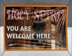 Holy Spirit You Are Welcome Here - Banner