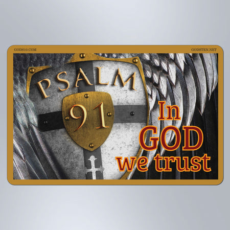 Psalm 91 - Large Magnet