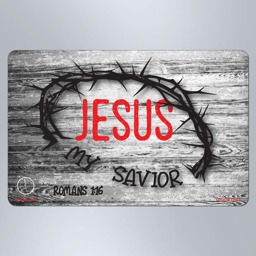 Jesus My Savior - Small Magnet