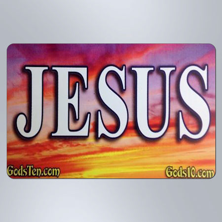 Jesus Sunset - Small Magnet